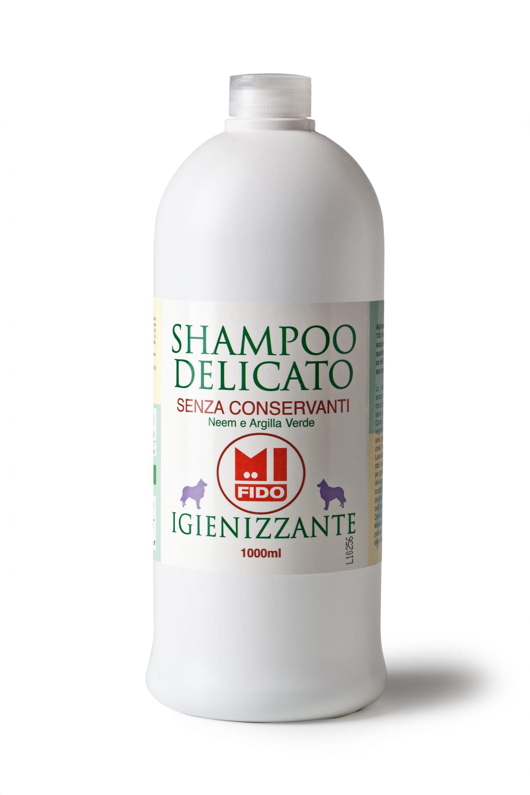 igienizzante shampoo