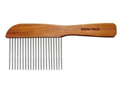 Pettine manico legno
