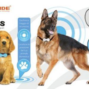 collare GPS per cani e gatti T- Pets GPS Pet Tracker