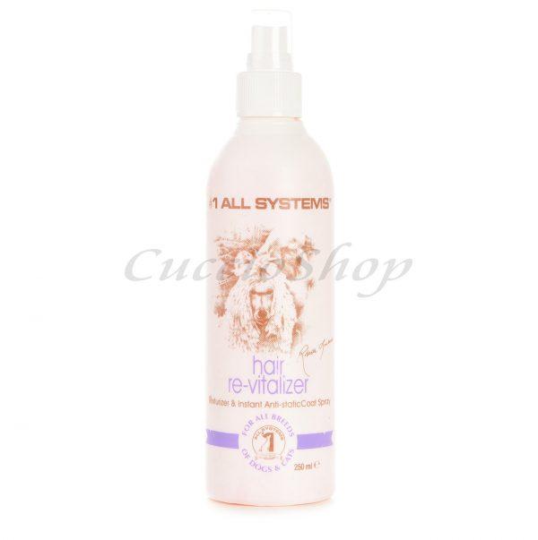 spray antistatico istantaneo concentrato Hair Revitalizer #1 All Systems per cani e gatti