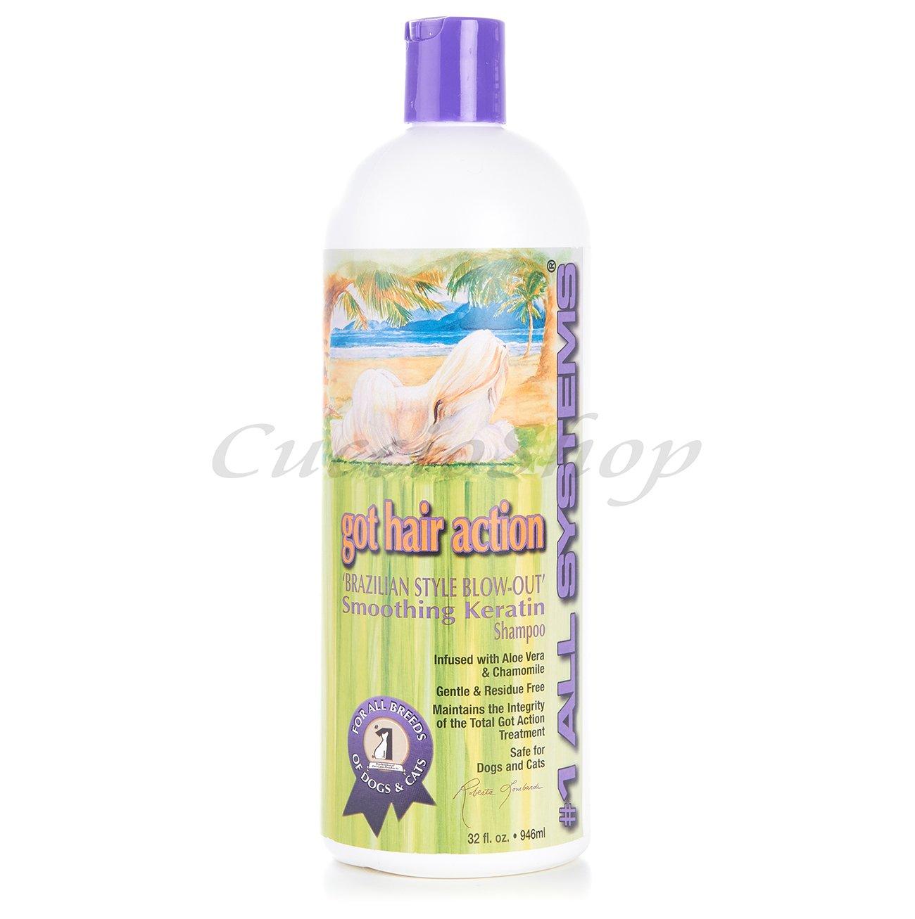 """Lo shampoo alla cheratina """"Smoothing Keratin Shampoo"""" #1 All Systems"""