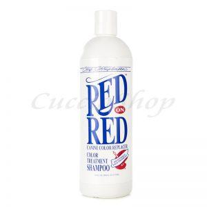 Red on Red shampoo Chris Christensen