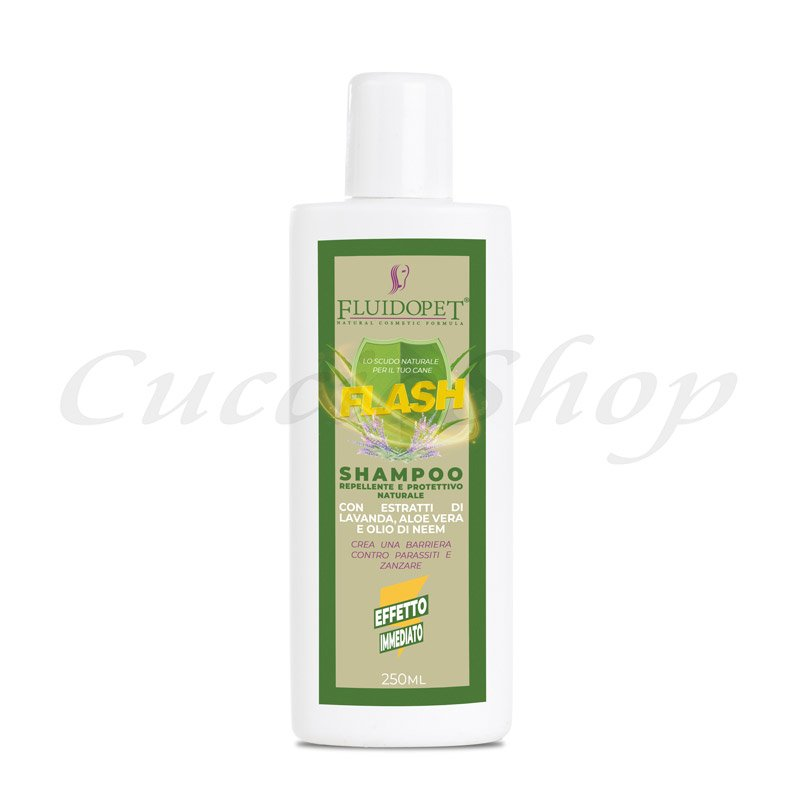 fluidopet flash shampoo