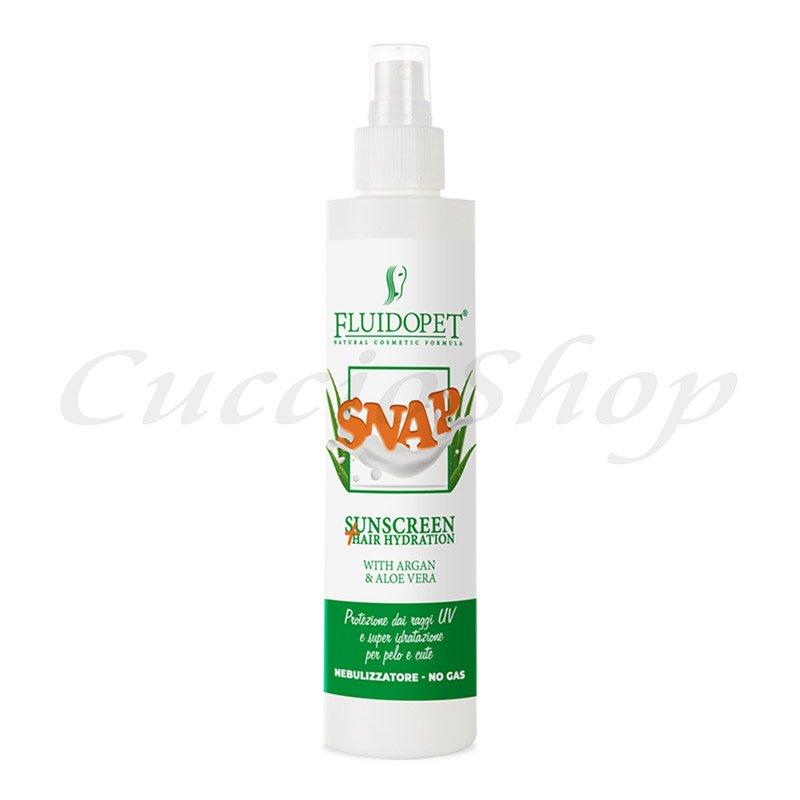 SNAP PROTEZIONE SOLARE-idratazione del pelo e cute
